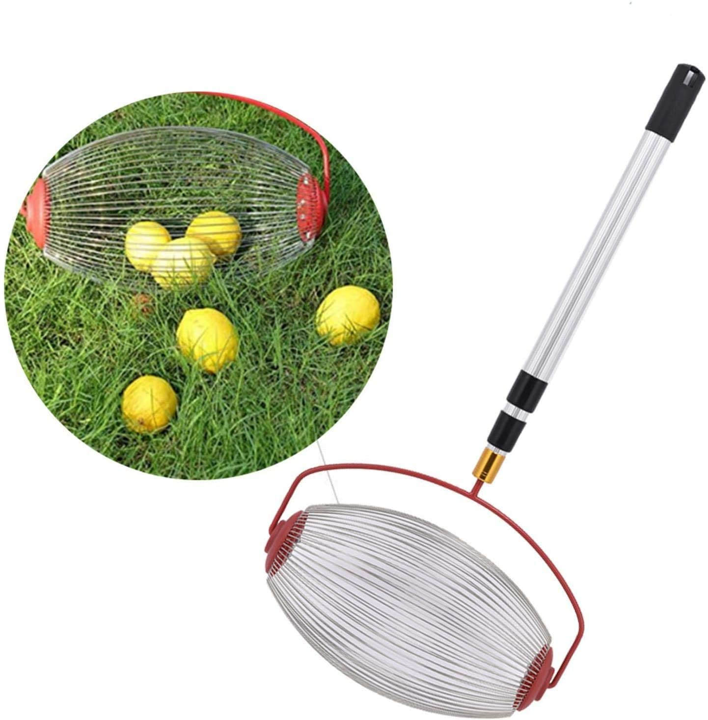 Сборщик орехов верхний для грецких орехов, орехов, маленький фруктовый комбайн, мяч, для тенниса, для скручивания орехов, для сада
