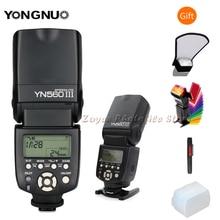 YONGNUO YN 560 III IV sans fil Flash principal Speedlite pour Nikon Canon Olympus Pentax DSLR appareil photo Flash Speedlite Original W cadeau
