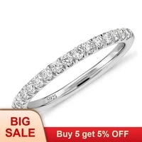 original classic aaa cz zircon finger ring real solid 925 sterling silver wedding rings for women engagement jewelry