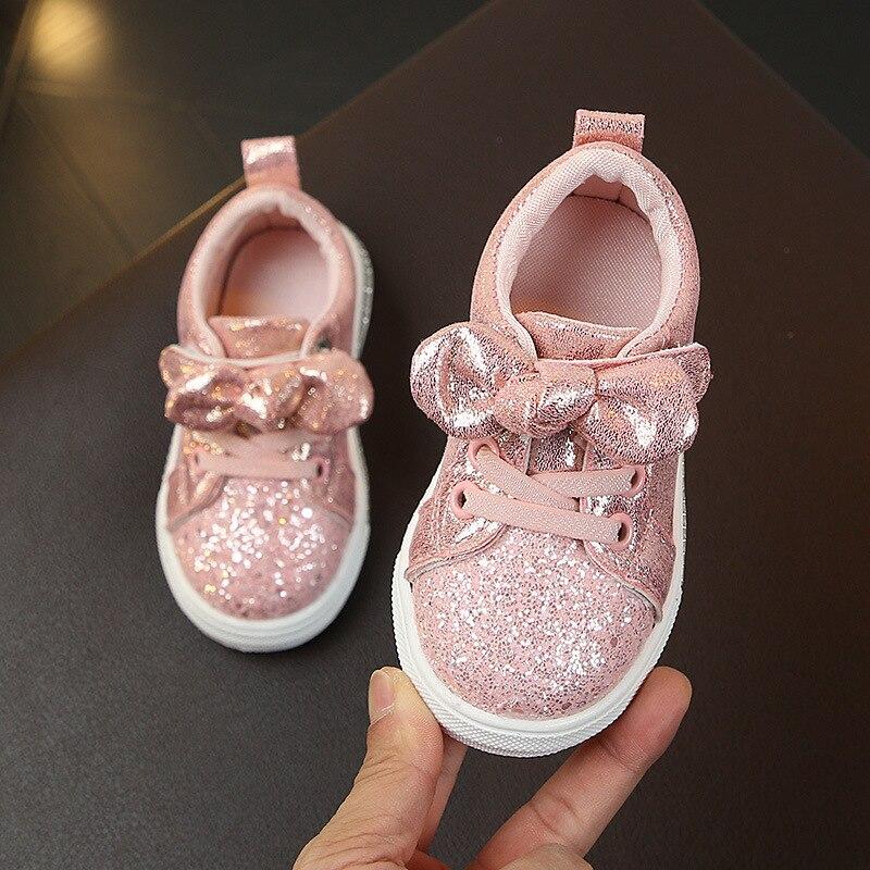 New Fashion Kids Antislip Soft Sneakers Girls Boys Toddler Casual Shoes Cute Running Spring Children Sport