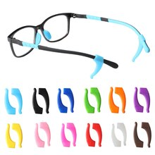 1 Pair Anti Slip Silicone Ear Hooks For Kids Adult Round Grips Eyewear Accessories Eye Glasses Holde
