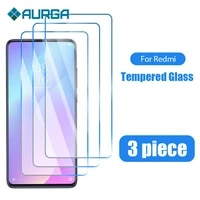 3pcs phone glass for redmi note 9 8 pro 8t 9s 7 screen protector for xiaomi redmi 9 9a 9c 4x 3s 4a 4 s2 go 9t 7a 8a glass