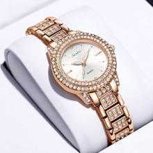 New LIGE Brand Diamond Watches Women Wristwatches Fashion Rhinestone Watch Female Lady Quartz Clock