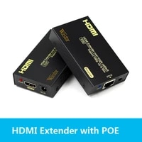 hdmi extender over hdmi extender poe by ethernet rj45 5e6 cable like hdmi splitter