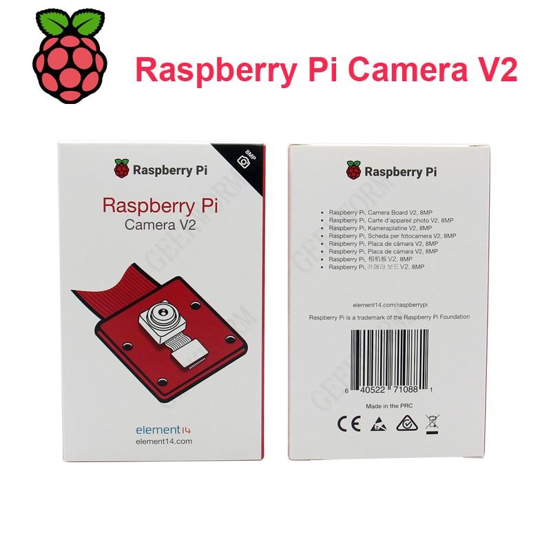 Módulo de cámara Raspberry Pi V2-8MP 1080P30/Raspberry Pi NoIR módulo de cámara V2-8MP 1080P30 compatible con Raspberry Pi 3b, 3b +, 4b