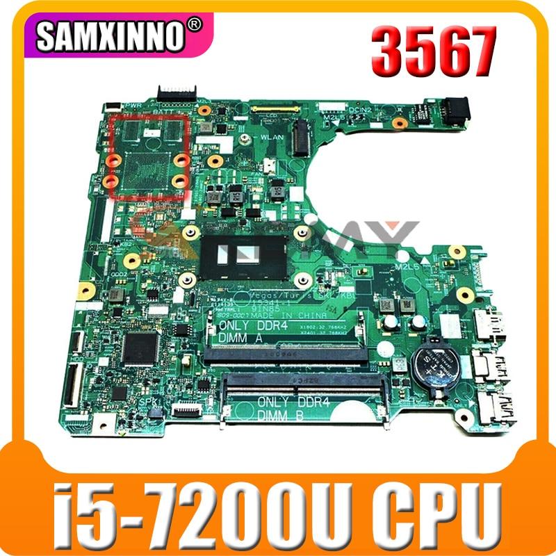 لديل انسبايرون 3567 اللوحة المحمول مع SR342 i5-7200u CN-0D71DF 0D71DF D71DF DDR4 15341-1 91N85 MB 100% اختبار بالكامل