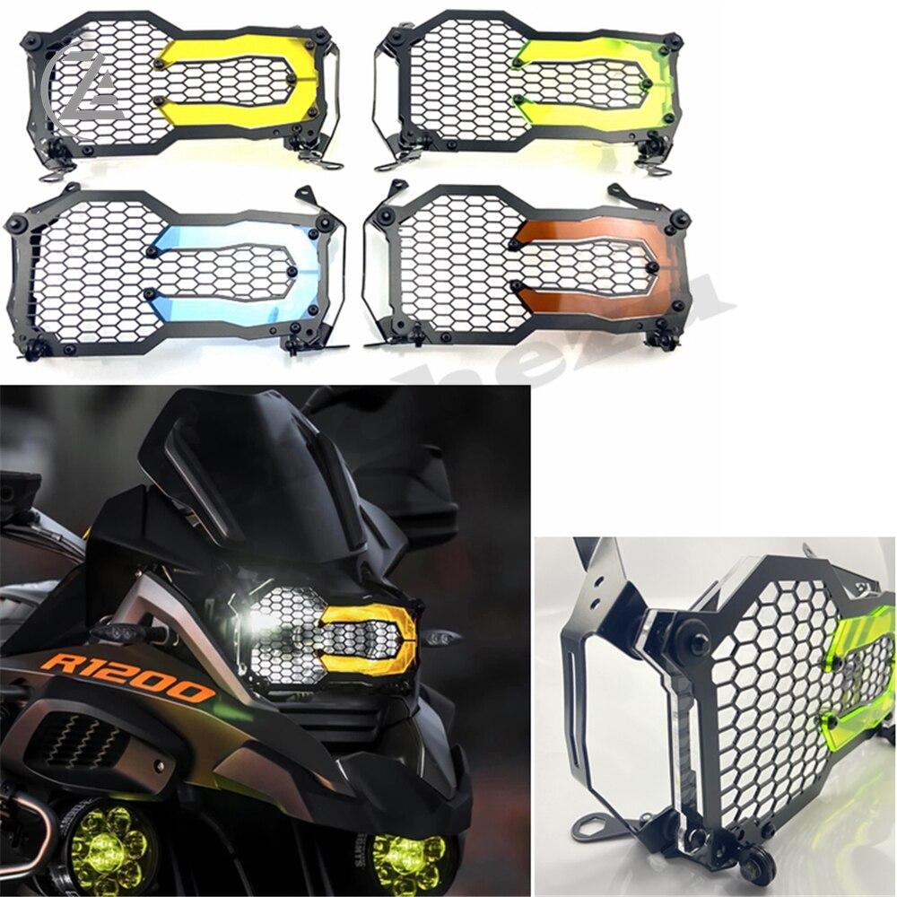 غطاء المصباح الأمامي للدراجات النارية مصباح حماية الرأس لسيارات BMW 1200GS R1250GS R 1250 GS Adventure R 1200 GS ADV/LC
