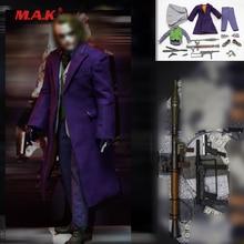 1/6 Model w skali ubranie jokera pistolet nóż granat Model akcesoria do 12 cali figurka ciała