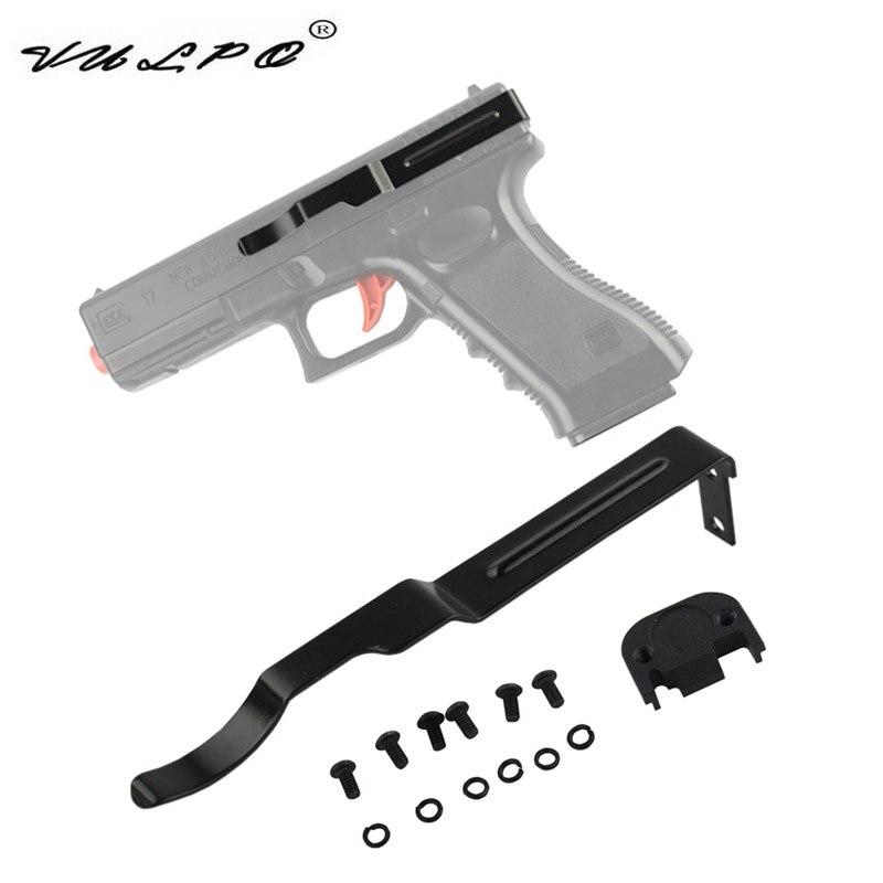 VULPO oculta pistola Clip de cinturón funda para Glock 17 19 22 23 24 25 26 27 28 30 31 32 33 34 35 36 llevar pistola Clip diapositivas