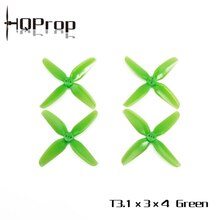 HQPROP T3.1X3X4 3130 4-Blade PC Propeller for RC FPV Racing Freestyle 3inch Cinewhoop Ducted Drones