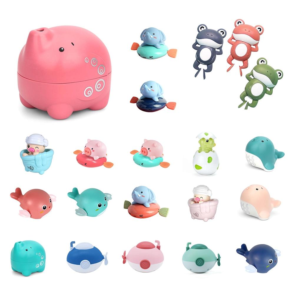 Детская заводная подводная лодка для ванной и душа, милая маленькая подводная лодка для купания, детские игрушки для купания
