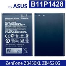 "B11P1428 Batterie Für ASUS ZenFone ZB450KL ZE500KG 5 ""X009DB ZB452KG ZenFone Gehen 4,5 2000mAh versorgung track nummer"