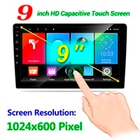android 9 1 car stereo with gps navigation wifi mirror link touchscreen 1gb ram 16gb rom car radio multimedia player