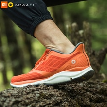Xiaomi Mijia Amazfit Antelope Mens Running Shoes Outdoor  sneakers for men Smart sport shoes zapatillas hombre Chip APP Control