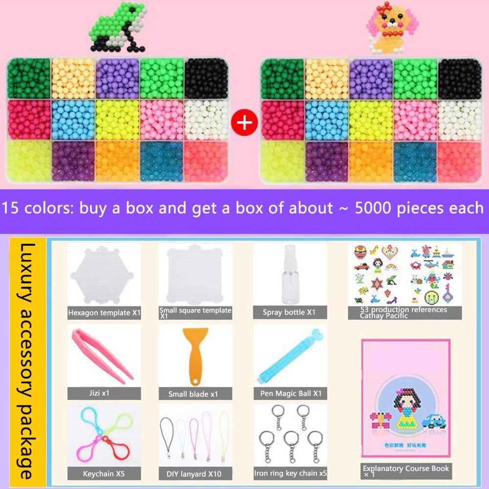 Accesorios Sticky Kids Toy Spell DIY Magic Water Beads reponer educación temprana niebla Crystal moldes para formas de animales manualidades regalos