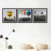 Toile dart mural avec ballon colore moderne  affiches et imprimes nordiques  images pour decoration de maison