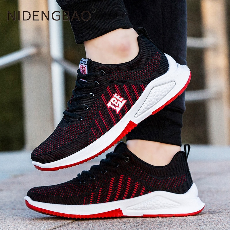 New Design Style Men Shoes Breathable Popular Men Running Shoes Outdoor Sneaker Sports Shoes Comfortable Training Footwear