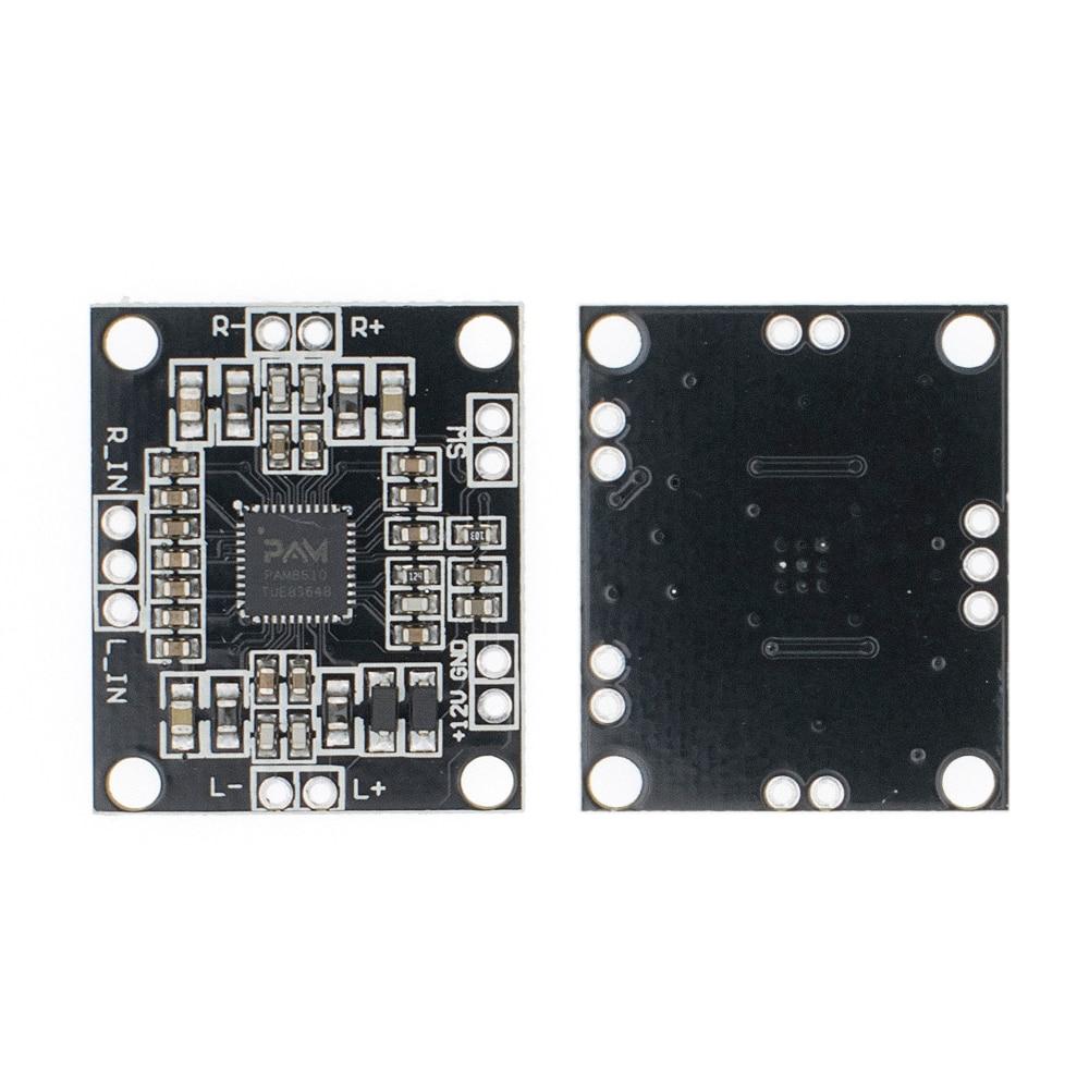 20 unids/lote TENSTAR ROBOT PAM8610 digital placa amplificadora de potencia 2x15w de doble canal mini estéreo Clase D placa amplificadora de potencia