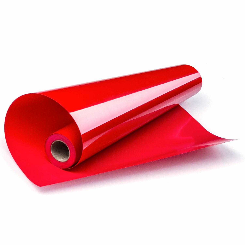 30 cm x 300 cm PVC Sticky Transferencia de Calor película de vinilo planchar en la camiseta Sticky back para silueta y Cameo adhesivo
