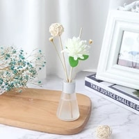 50ml glass bottles reed diffuser sticks essential oil air freshers flameless aromatherapy home air freshener perfume set