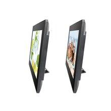 Android tout-en-un pc 15.6 pouces tout en un ordinateur pc affichage numérique écran tablette ordinateur avec alimentation cc