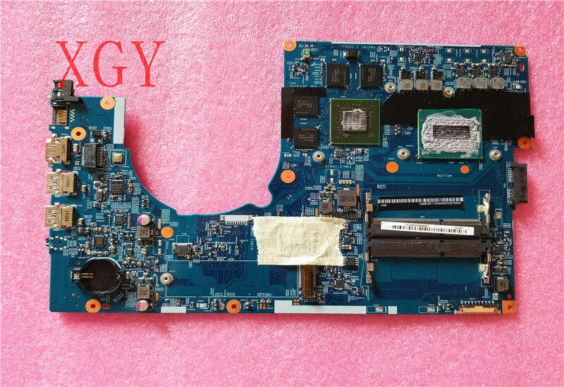 Original 14203-1M placa madre para Acer Aspire VN7-791 VN7-791G mianboard i7-4710HQ N15P-GX-A2