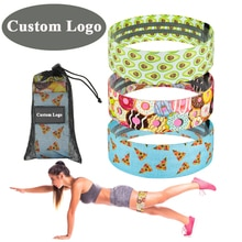 Booty Fabric Resistance Bands Set Hip Exercise Loops Elastic Bands Fitness Gym equipment Sports Legs
