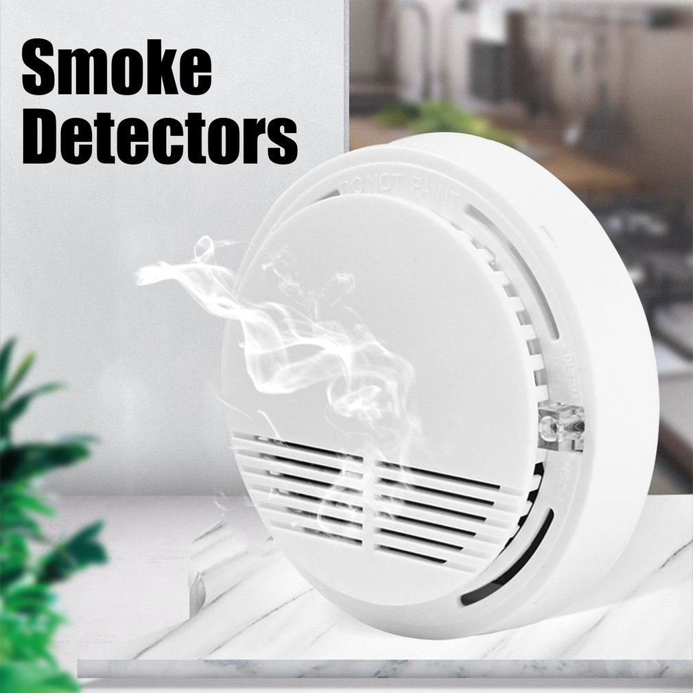 Acj168 Independent Smoke Alarm Smoke Alarm Independent Smoke Detector Wireless Home Fire Sound And Light Sensor Sensor smoke