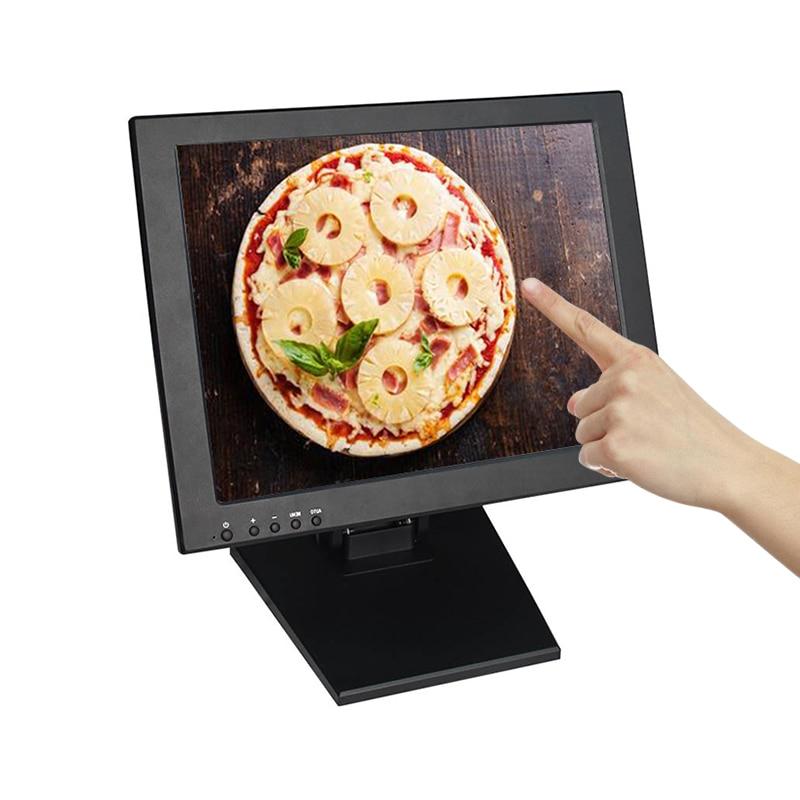 Moniteur moins cher 15 pouces écran tactile moniteur dordinateur de bureau écran tactile pour magasin