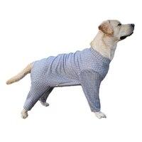 large dog pajamas pet dog clothes jumpsuits dog clothing coats dogs anti hair loss dog gear
