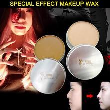 Skin Wax Pad Nose Halloween Knife Scar Wrist Cosplay Skin Color Eyebrow Mud Waterproof Skin Wax Shaping Special Effect Makeup