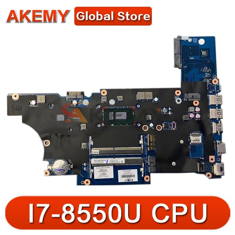 عالية الجودة L00825-001 ل HP Probook 450 G5 اللوحة المحمول DA0X8CMB6E0 SR3LC I7-8550U DDR4 2GB اللوحة 100% اختبار