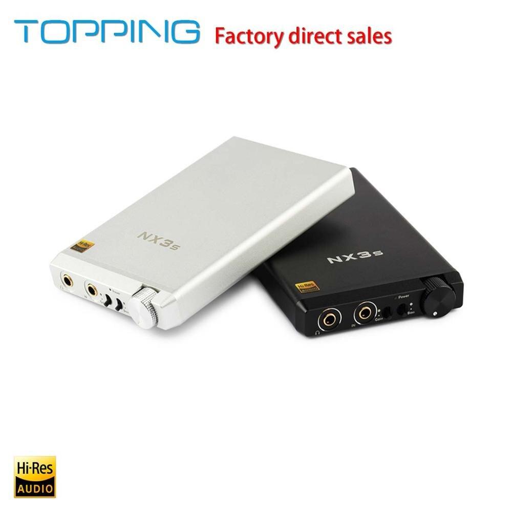 Amplificateurs Topping NX3s HiFi amplificateur pour casque Portable pa2140 lme49720 Support de batterie intégré pour le remplace