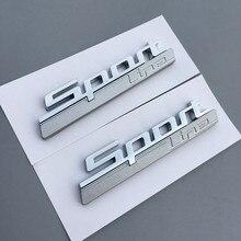 Estilo de coche 3D de lujo moderno urbano pegatinas de coche deporte prepárense para BMW M E30 E36 E46 E90 E91 E92 E93 F30 E34 F10 E90 F30 E60 F20