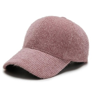 Winter warm baseball cap for women adjustable size women's hat solid corduroy hats Chapeau femme lovely tongue caps sports cap