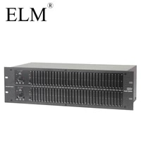 231 professional dual graphic equalizer
