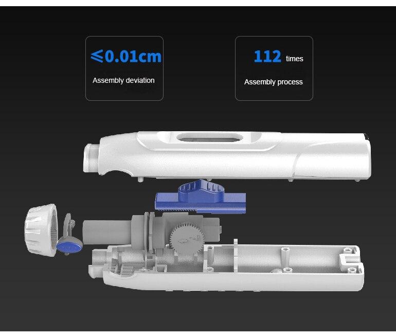 Waterpulse Teeth Electric Oral Irrigator Water Flosser Tooth Cleaner Massager Dental Hygiene 6 Speeds 1000ml Tank 6 Nozzles Jets enlarge