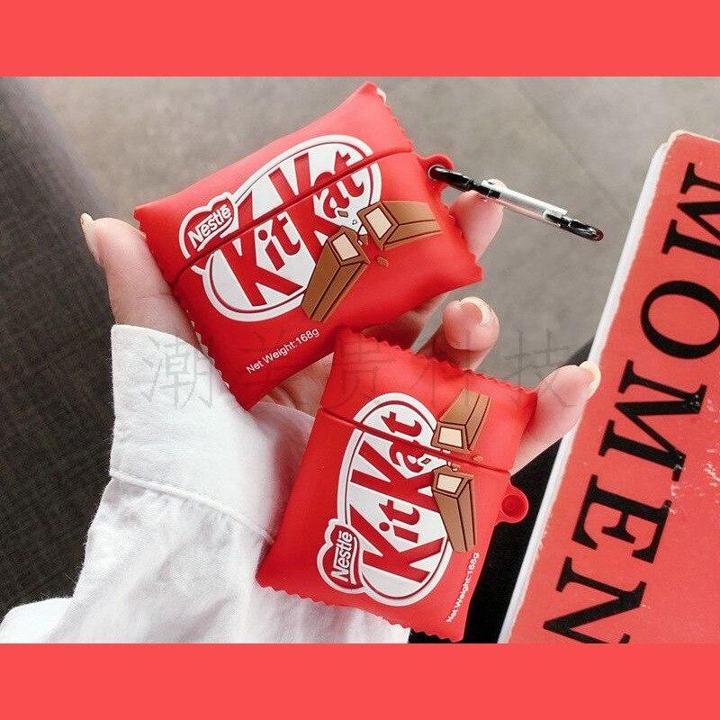 Teyomi 3D dibujos animados creativo estuche de chocolate para Airpods 1/2 suave funda de silicona para Airpods Pro caso para niños