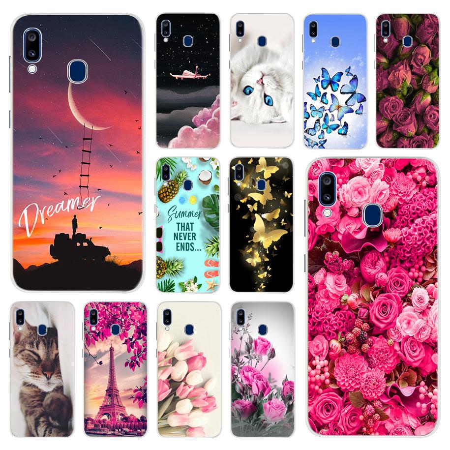 Für Samsung Galaxy A20 Fall Silikon TPU Schutzhülle Telefon Fall Für Samsung A20e A20 A205F A205 EINE 20 e SM-A205F Fall Stoßstange