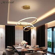 Luces LED colgantes modernas para cocina, comedor, lámpara colgante de techo, decoración, casa, halat, avize, AC90-260v
