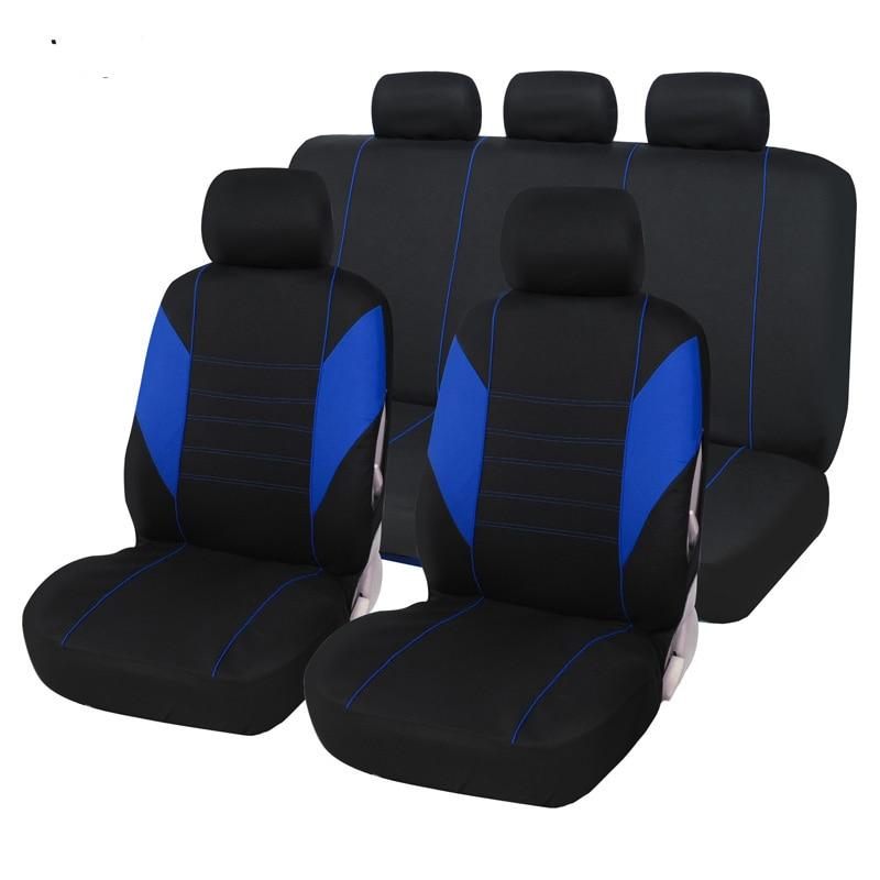 Cubierta completa de fibra de lino para asiento de coche, fundas de asientos de coche para renault clio 1 2 3 4 kadjar koleos laguna 2 3 latitude logan 2