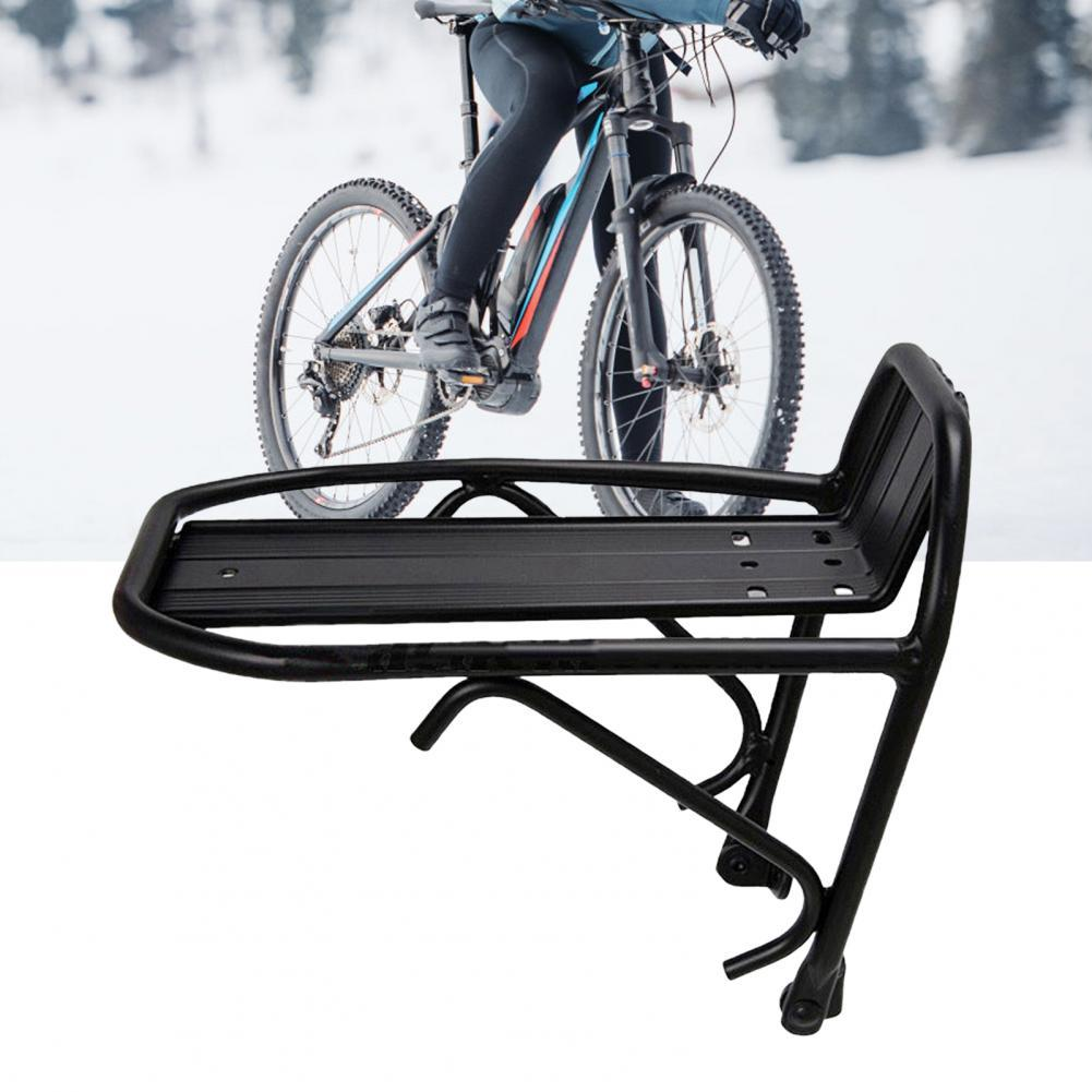 Convenient Practical Aluminum Alloy Bicycle Cargo Rack Quick-release Bicycle Front Rack Long Lasting for Cycle