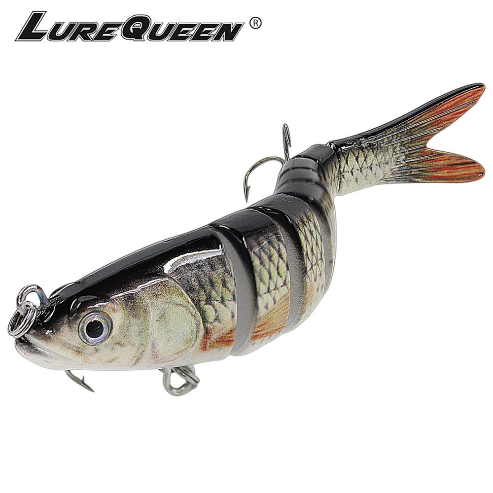 Angeln Lure Sinking Wobbler Wobbler Harter Köder Hecht Jointed Swimbait Künstliche Köder Angeln Tackle Bass Trout Fishing Lockt