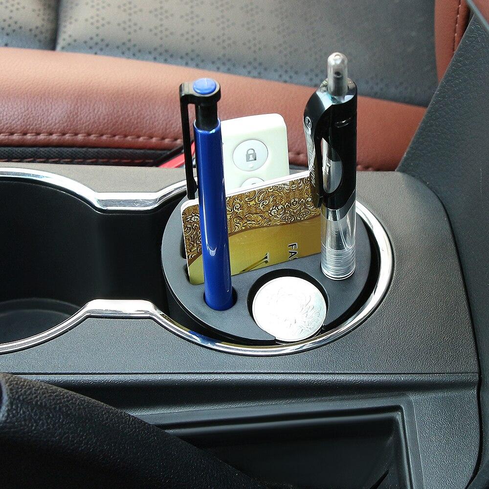 Coche Universal tarjeta caja de almacenamiento para Opel Antara Astra K J H G Crossland X Grandland X Insignia Mokka X Signum