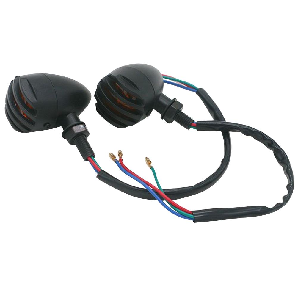1 пара указателей поворота мотоцикла светильник индикатор светильник A35