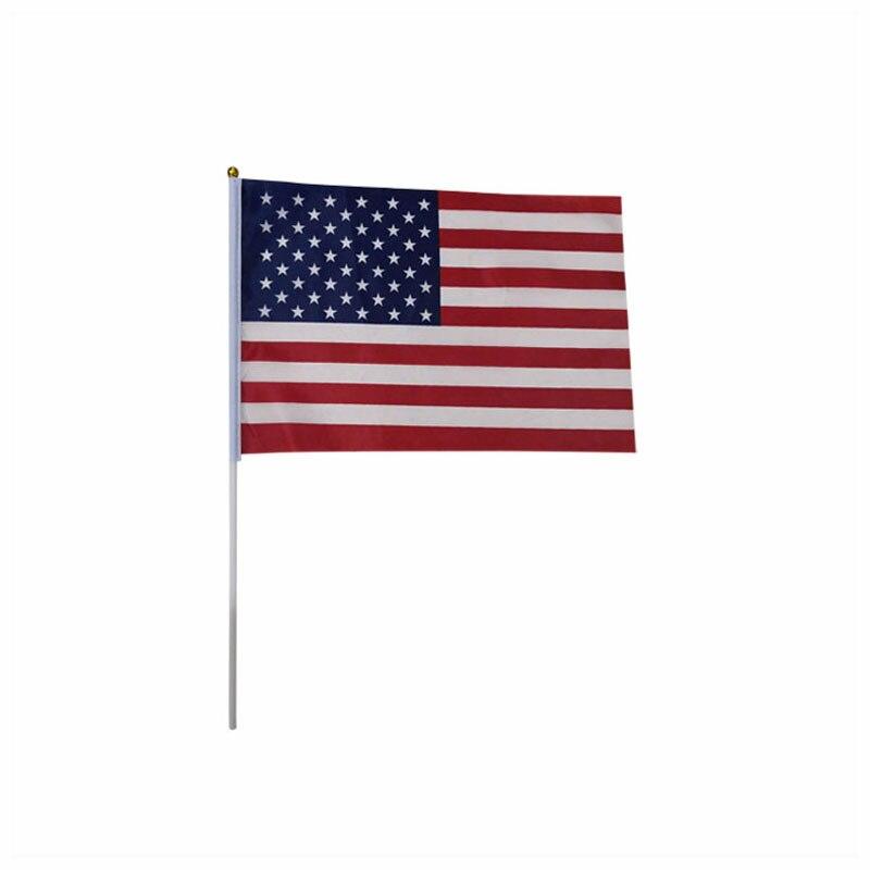 Фото - Decoration 20*30 CM US flag,America Celebration Country Flag 100PCS/ LOT football 32 country flag string
