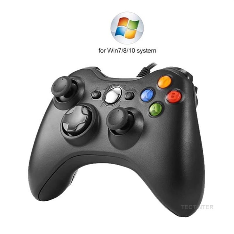 USB السلكية الاهتزاز غمبد عصا التحكم لأجهزة الكمبيوتر تحكم ويندوز 7 / 8 / 10 ليس ل Xbox 360 Joypad مع جودة عالية