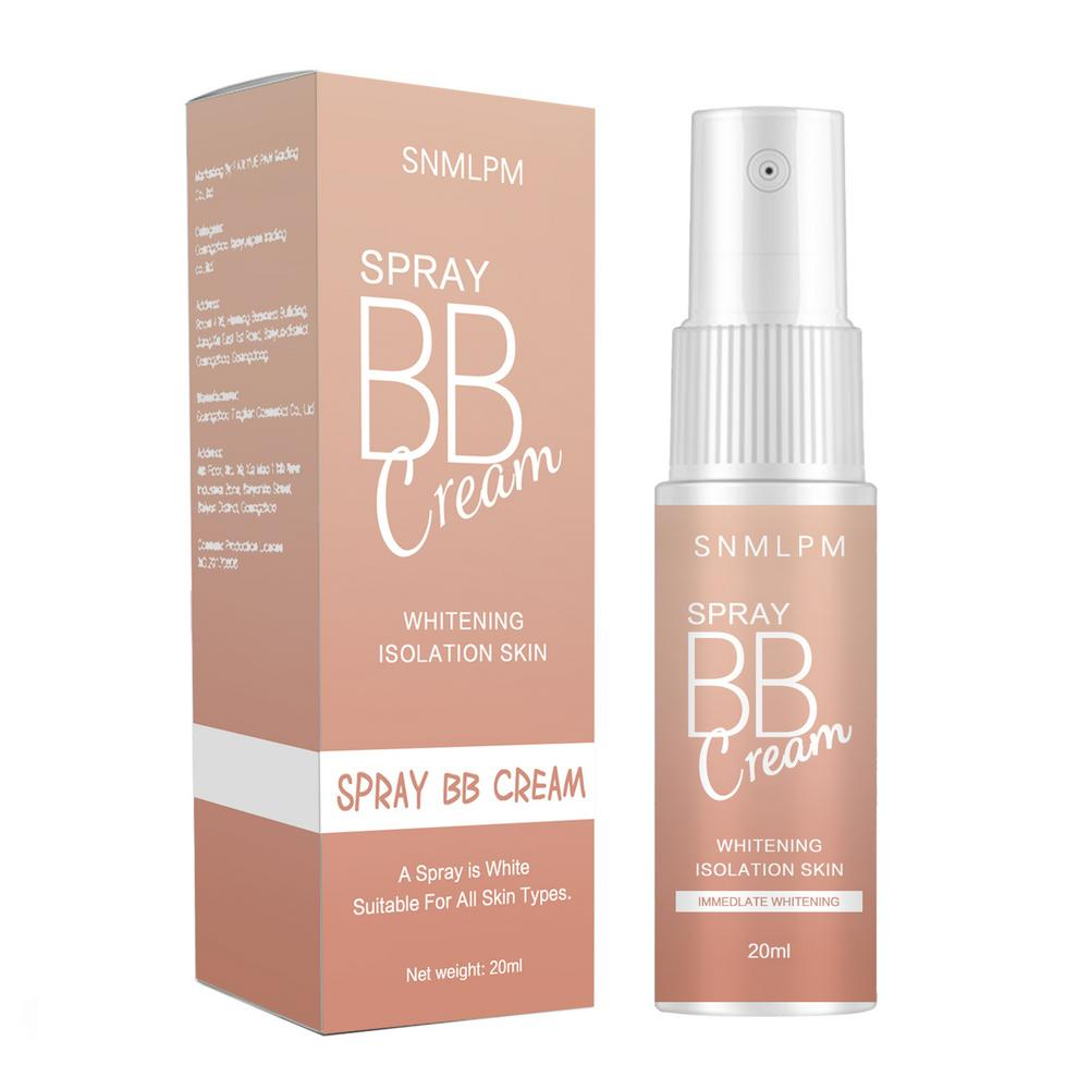 20ML Spray BB Cream Concealer Brighten Whitening Moisturizing Base Face Foundation Makeup Beauty Skin Care Korean Cosmetic недорого