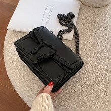 PU Leather Women's Shoulder Bag Mini Messenger Bags For Female Chain Crossbody Bag Luxury Travel Purse Bolsa New HW758