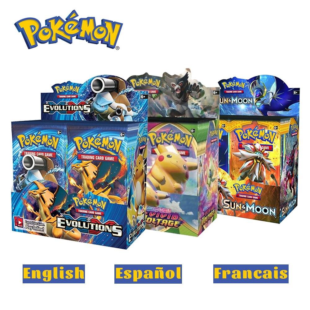 360Pcs Pokemon TCG: Sun & Moon Unbroken Bonds Booster Box Trading Card Game Pokemon Card  Kids Toys